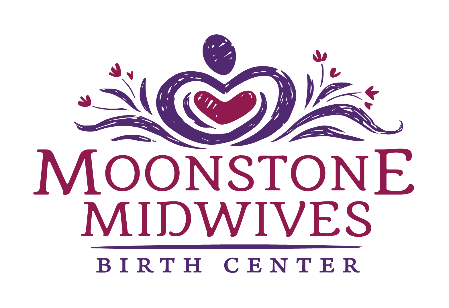 Moonstone Midwives Logo